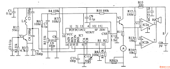 pll ic wiring diagram components