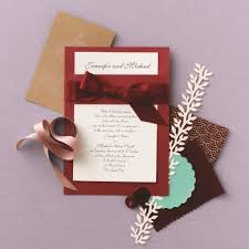 wedding invitations burgundy classic formal burgundy ivory invitations by david s bridal