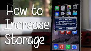 how to increase storage on any iphone hd youtube