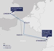 Tgv Map France by Strasbourg City Break Railbookers
