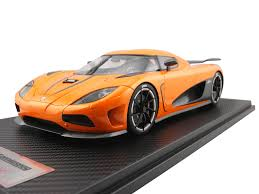 koenigsegg orange 1 18 koenigsegg agera r 1 18 frontiart model co ltd