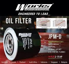 mitsubishi indonesia engine oil filter jpm d mitsubishi triton pajero sport 2 5t