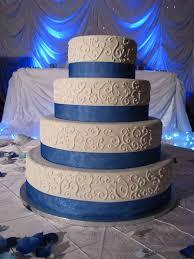 100 wedding cake royal blue royal blue and gold wedding