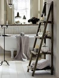 bathroom towel ideas bathroom accessories standing wooden ladder shelf bathroom