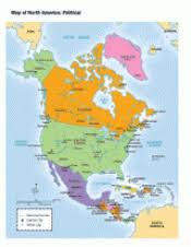 america map political political map of america teachervision