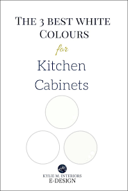 the best white paint to use on kitchen cabinets the 4 best white paint colours for cabinets benjamin