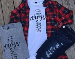 Rugged Clothing Old Rugged Cross Etsy