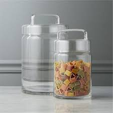 clear glass canisters for kitchen these 10 canisters and storage jars will spruce up your kitchen