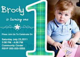 template baby boy first birthday invitation cards india in