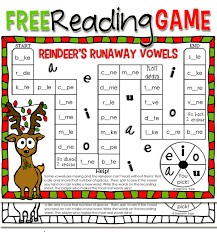 free printable reindeer activities christmas reading game printable primary theme park
