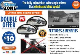 Where To Install Blind Spot Mirror Clear Zone Review Blind Spot Eliminator Freakin U0027 Reviews