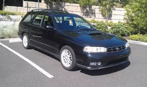 fs for sale sold 1998 subaru legacy gt wagon black 5mt
