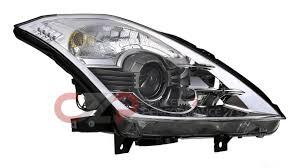 nissan 350z tail lights nissan infiniti nissan oem 26010 cf40b bi xenon headlight rh
