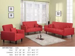 3 Pc Living Room Set 1378 00 Oxford 3 Pc Living Room Set Red Sofa Sets Oxford Set