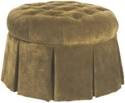Skirted Ottoman Furniture Accent Chairs Skirted Ottoman Stuckey
