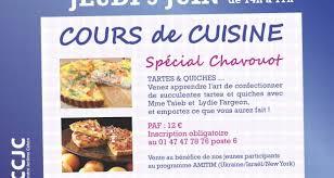 cours de cuisine neuilly sur seine centre communautaire de neuilly sur seinecours de cuisine special