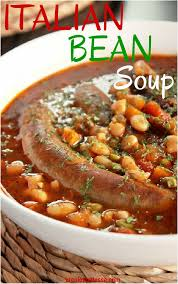 Italian Soup by Slow Cooker Italian Bean Soup With Sausage Creole Contessa