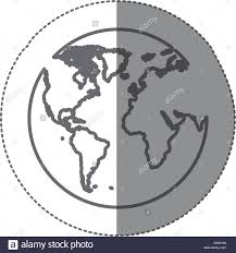 World Map Silhouette World Map Flat Atlas Stockfotos U0026 World Map Flat Atlas Bilder Alamy