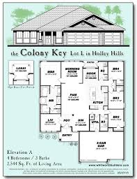 floor plan key colony key navarre whitworth builders