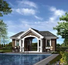 Small Pool House Plans Pool Cabana Guest House Plans Pool Cabana Traditional Pool
