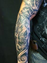 skull tattoos sleeve idea pictures to pin on