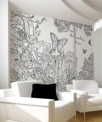 nature wall decals nature stickers for walls stickerbrand vinyl wall decal sticker butterfly forest os aa1071