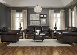 Black Leather Living Room Sets Furniture Add Luxury To Your Home With Full Grain Leather