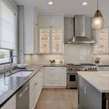 glass cabinets in white kitchen photos hgtv