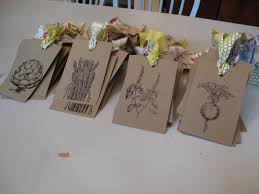 seed packets wedding favors eco wedding eco thrifty living