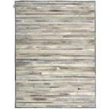 Calf Skin Rug Decor Prairie Arctic Silver Cow Skin Rug For Floor Accessories Idea