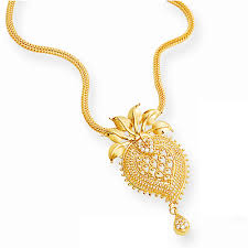 necklace pendant design gold images Designer gold jewellery gold pendant manufacturer from vellore png