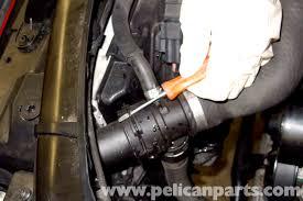 bmw e90 radiator replacement e91 e92 e93 pelican parts diy