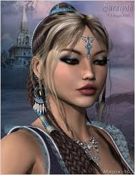 hair jewels suraiyah hair and jewels mega pak 3d models for daz studio and poser