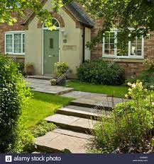 Modern Cottage Attractive Modern Cottage Style House With Stone Steps And Path In