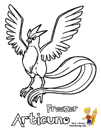 click to print preview pokemon articuno coloring page inside