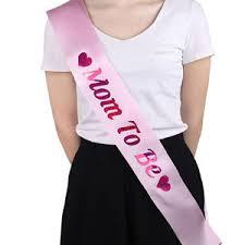 satin sash satin sash banner new baby shower party favor decor ribbon