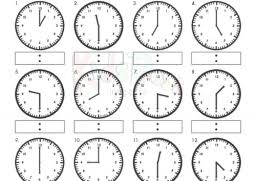 telling time in spanish printable worksheets free worksheets