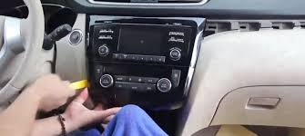 how to upgrade 2014 2015 nissan x trail radio with 15 steps
