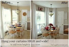 Hanging Curtains High And Wide Designs Window Curtains Beautiful Of Creative Of Hanging Curtains Higher
