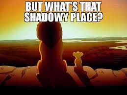 Lion King Shadowy Place Meme Generator - but what s that shadowy place meme lion king 71042 page 27