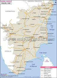 tamil nadu map travel to tamil nadu tourism destinations