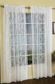 European Lace Curtains Lace Curtain White United View All Curtains