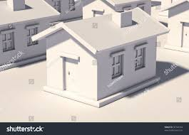 simple house on light background stock illustration 96744754
