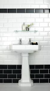 bathroom black and white great black and white bathroom tile ideas best ideas about black