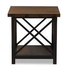 wood metal end table coffee table glass with stools underneath large dark small round