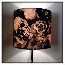 skulls u0026 roses lampshade 20cm drum 10522