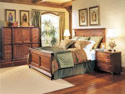 classic distressed wood bedroom furniture idea for vintage room