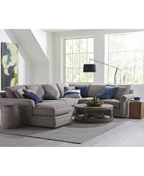 Down Filled Sectional Sofa by Doss Ii Fabric Sectional Collection Furniture Macy U0027s
