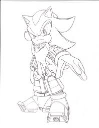 shadow the hedgehog different coloring shadow the hedgehog