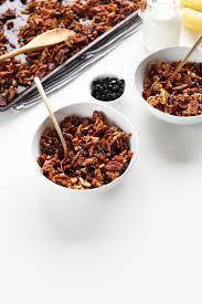 simple grain free granola minimalist baker recipes